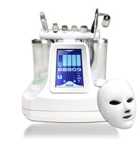 7 en 1 bio rf hammer hidro microdermoabrasión 5 en 1 hidra hidabrasa 6 en 1 spa facial máquina de limpieza de poros de piel