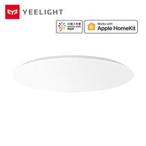 2019 New Xiaomi mijia Yeelight YLXD42YL Upgrade Version 480mm Smart LED Ceiling Light Support Apple HomeKit Intelligent Control