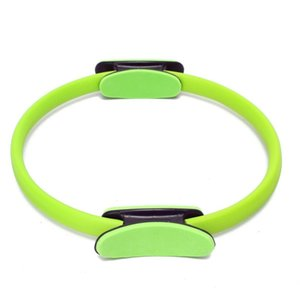Pilates Ring Circle Resistance Exercise Workout Fitness GYM Yoga Ring Dual Band green Yoga Circles