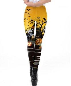 Calças Designer Festival Womens Apparel Estilo Moda Halloween Vestuário Feminino Leggings Cosplay bonito Casual 3D Impressão