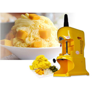 2020 Máquina do floco de neve Commercial Shaved Ice neve Cone Ice Shaver Criador máquina elétrica Ice Block Crusher