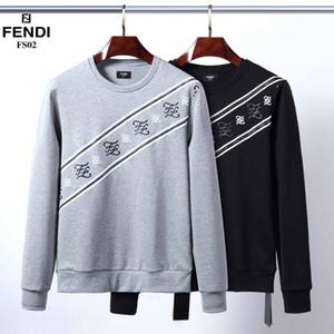 2018 automne et en hiver nouveau sweat à capuche liste supérieure de la rue des hommes de conception marque sweat-shirt à manches longues DS273 M-3XL 666