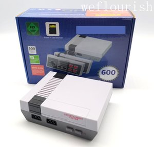 Wholesale 600TF card game console portable game console can store 600 Nes games with retail box