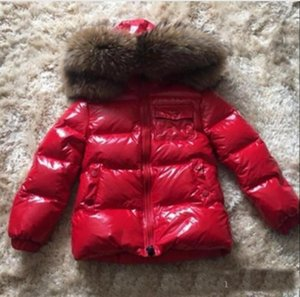 hot sale brand Girls Winter Jacket Kids Warm 90% Duck long Down Coat Hooded Outerwear Parkas Children Winter Clothing Snowsuit