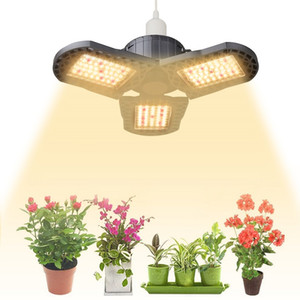 LED Grow Light Bulb E26 E27, Super Bright Sunlike 3500K Full Spectrum Grow Lamp for Indoor Plants with IR & Red LEDs