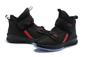 2020 new Kids LeBron Soldier 13 Laker Basketball Shoes For Sale Best Qaulitys James Men Womens Sport Sneakers With Box Size 4-12