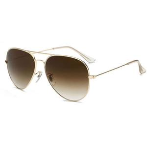 Золотая рамка очки мужчин и женщин носить бренд дизайнер солнцезащитные очки золотые рамки солнцезащитные очки объектив мужской бренд дизайнер солнцезащитные очки новая отправка коробка