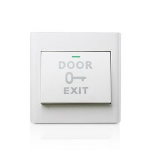 Access control switch Doorbell switch panel Concealed Type 86 Exit button Exit switch Open the door