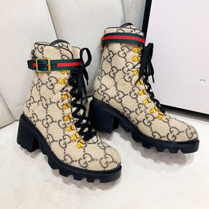 Lüks kadın moda Boots ve ağır tabanları Büyük boyutu 35-42 ile klasik bayanlar kış Şövalye Boots En iyi kalite ile yüksek topuklu çizmeler