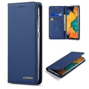 Samsung Galaxy A10, A20, A30, A40 Manyetik kart yuvası sahibi için Deri Kılıf Samsung A70 için çevirme TPU yumuşak kapağı standı A50 Telefon Kılıfı Coque