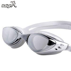 Balight einstellbar Wasserdicht Anti-Fog UV-Schutz Erwachsene Professionelle Farbige Linsen Tauchbrillen Brillen Schwimmbrille