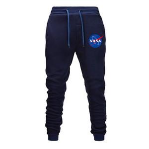 NASA Designer Dos Homens de Fitness Esporte Calças de Algodão Estiramento dos homens de Fitness Jogging Harem Pants Body Engineers Basculador Ao Ar Livre 5 Cores
