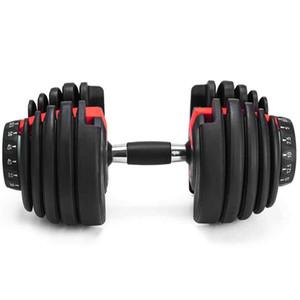 Einstellbare NEU Gewicht Hantel 5-52.5lbs Fitness Workouts Dumbbells Ihre Stärke, Ton und Ihre Muskeln ZZA2196 Seeverschiffen bauen