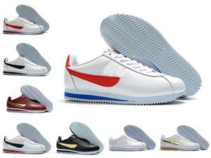 Alta Qualidade 2020 clássico Cortez NYLON RM esportes funcionar Calçados Azul Vermelho Branco Cortez Nylon Varsity Preto Rosa real Lightweight Run sneakers