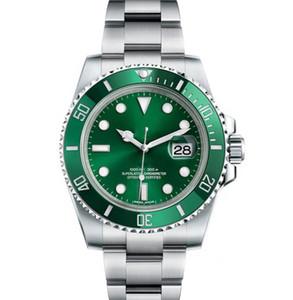 Керамическая рамка мужские New Green Men 2813 Механические SS автоподзаводом Часы Спорт Self-ветер моды Наручные часы
