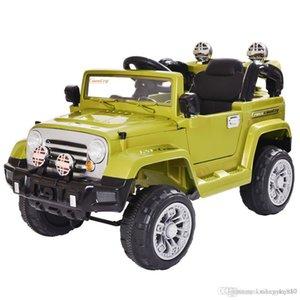 12V детская электрическая поездка на автомобиле грузовик с батарейным питанием с дистанционным управлением светодиодные фонари двойные открытые двери музыка детская игрушка CL5762