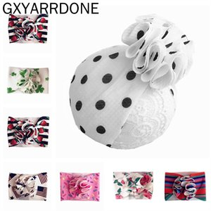 2020 New Baby Girl Headbands bebê Headwrap Bloom Enrole Headbands headwraps Puff Bloom Turbantes Handmade Outfit Hairband