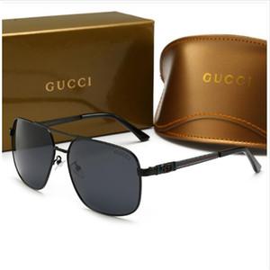 Lüks erkek Güneş Gözlüğü Tasarımcı Sıcak Moda Stil Sunglass Erkekler için Marka Yaz Bayan Cam UV400 Kutusu ve Logosu ile Çok Y ...