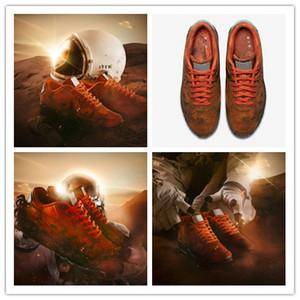 2019 Melhor Novo 90 Mars Landing Running Shoes Men 3 M Reflexão Sapatilhas Porco Oito Material de Couro Sapatos De Jogging Esporte Ao Ar Livre 40-46