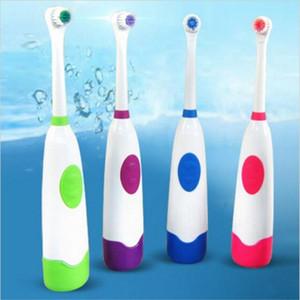 Sıcak Satış Döner elektrikli diş fırçası yetişkin elektrikli diş fırçası çocuk diş fırçası 2 fırça kafaları su geçirmez rotasyon oral fırçalar C18112601