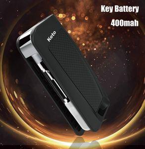 Originale Keto flip Battery Box 400mAh Vape Mods Batteria E Cigarettes Battery Charger Kit preriscaldamento VV Batterie misura 510 Vape cartucce