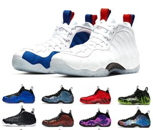 Vandalised USA Schiuma un penny Hardaway Mens Basketball Shoes Paranorman Doernbecher Viola Camo Galaxy Alternate Sport Sneakers 7-13