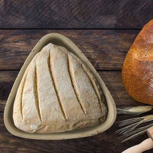 Triangulaire Pain au levain Fermentation panier, bols de cuisson de la pâte, cadeaux pour les boulangers, paniers à pain pour les paniers Sourdough, Shavi