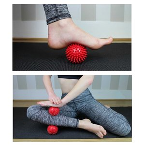 Relaxation musculaire sports exercice Fitness Pelvis boule de massage des pieds Hedgehog douleur du corps Stress Relief Massage Trigger Point