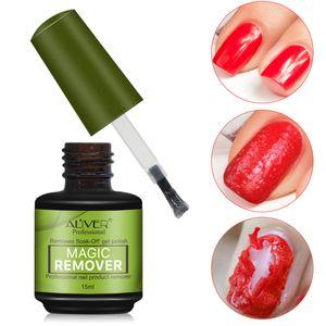 Gel Marca ALIVER smalto burst di magia di rimozione del liquido per rimuovere lo Sticky strato di gel Nail sgrassatore pulitore del gel Lak Remover B