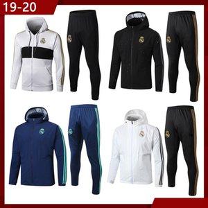 2019 2020 2021 Реал Мадрид футбол спортивный костюм мужская спортивная одежда, шляпа с длинным рукавом футбол спортивная одежда костюм, куртка Куртка футбол тренировочный костюм