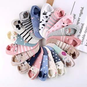 women's summer Cartoon Boat boat creative cotton low-top women's socks shallow short socks