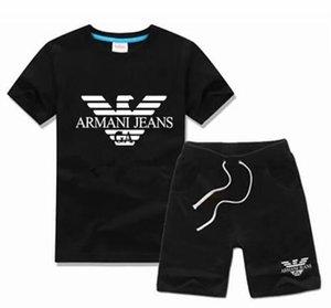 NEW Fashion Photos Brand Kids Sets Children T-shirt And Shorts Pants Kids Tracksuits Children Sport Suit 2 Pcs Short Sleeve uire8s32 t shirt