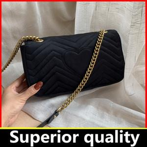 Best Seller Çanta kadınlar çanta cüzdan küçük zincir omuz çantaları haberci kadife çanta kadınlar kutu GB63 ile sıcak satış crossbody