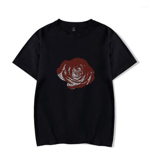Kısa kollu Yaz Suyu wrld RIP Tshirts Erkekler Kadınlar Rapçi hatıra Tops