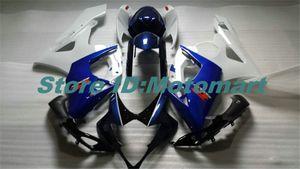 Iniezione Kit muffa della carenatura per SUZUKI GSXR1000 2005 2006 GSX R1000 GSXR 1000 K5 05 06 carenature Set + regali blu SG66 nero