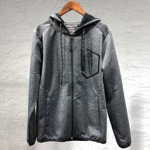 2018 New Style Autumn And Winter Men And Women Celebrity Style Dark Gray Jacket Tops Fashion Casual WOMEN'S Dress