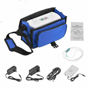 3L Min Portable Oxygen O2 Concentrator Machine Efficient O2 Generator Purifier New