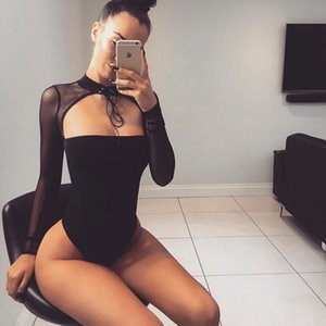 Zoctuo 2020 Bodycon Romper Drop shipping Woman Party Night Bodysuit Jumpsuit Sexy Club Party Summer Body Jumpsuit
