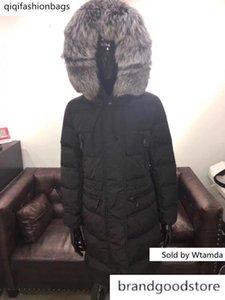 Qulaity Luxury Women Winter Warm Down Jacket Dress Jackets Womens Outdoor Down Coat Woman Thin Long Jacket Parkas