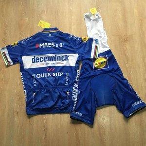 2020 Quick Step Takımı Bisiklet Kısa Kollu Jersey (önlük) şort takımları 2020 Bisiklet Maillot Bisiklet Giyim Yaz Mtb Sportwear 011603f