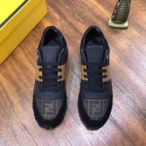 Christmas Sale 2020 New Luxuxmann beiläufige Schuh-Mode-Trainingsschuh Bindung der Männer Beleg-Plattform-Schuh-beiläufige Gehen Tennis-Schuh-Turnschuhe