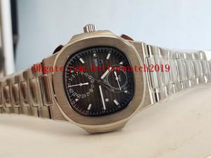 vendita uomo grigio sport Orologi da polso Cronografo serie classica 40,5 millimetri Nautilus 5990 / 1A acciaio inox quarzo trasparente automatico