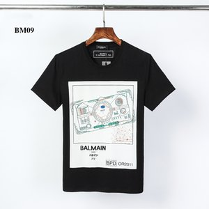 Lujo BM09 designershirts mujeres de los hombres de verano camisetas de manga corta de moda Brandshirts Hip Hop Top Casual Tees Ropa para Hombres 2020577K