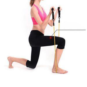 Resistência elenxs Bandas Força Workout Bandas tubo Exercício Cords Peito Expander Pull Maca para Home Gym Exercício
