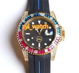 Free Полностью водонепроницаемый высокого класса людей вахты Бутик качества моды Top Автоматическая Мужские наручные часы Trend Sports Алмазные Часы Доставка Njqi