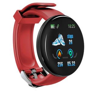 D18 Sport Релох Inteligente сердечного ритма Смарт Часы браслет Спорт артериального давления водонепроницаемый Релох Inteligente Montre Intelligente