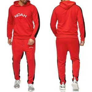 TOM Men's Clothes Fashionable jogging Tracksuit Men Sweat Suits Mens Jogger Suits Jacket + Pants Sets Sporting WOMEN Suit Hip Hop SetS-