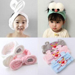 Neue Baby Stirnbänder Bunny Ohr Stirnband Kinder Haarschmuck Niedliche Haarbänder für Mädchen Nylon Bogen Kopfschmuck