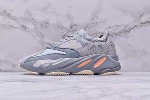 Kanye West Inertia 700 V2 Wave Runner Static Mauve OG Solid Grey Designer Men Women Running Shoes Fashion Sports Basketball Sneakers