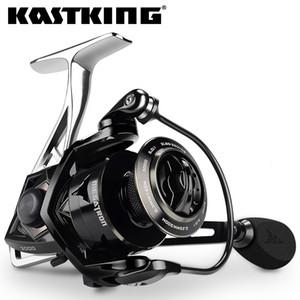 KastKing Megatron 21kg Max Drag Carbon-Drag Spinning Angelrolle mit großem Spool-Aluminiumkörper Salzwasser Spinning Angelrolle T191015